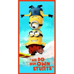 TOALLA PLAYA DISNEY MINIONS SURF