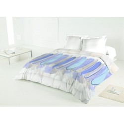 Duvet Estampado Reversible Paint